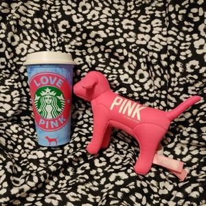 Custom PINK VS Starbucks cup